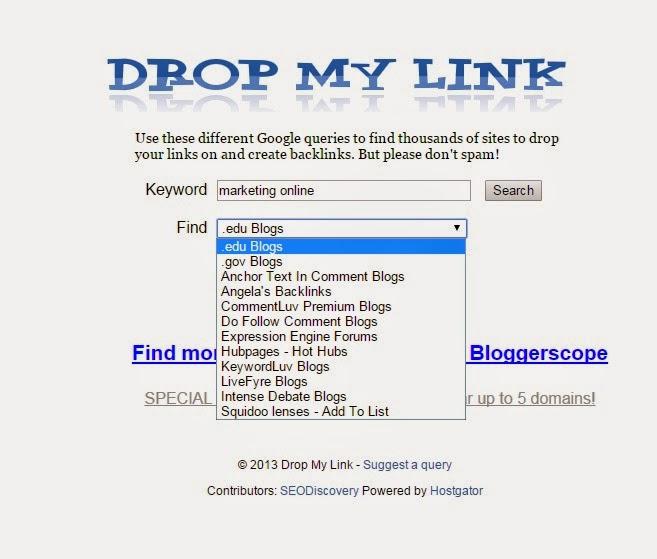 Tìm kiếm link edu và gov một cách dễ dàng cho seo