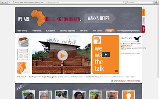 Building Tomorrow Homepage