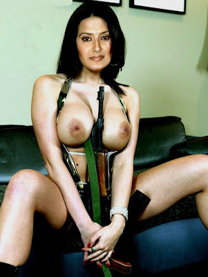 Kratika Sengar T V Fakes Nude Eposing Her Big