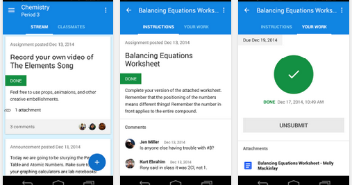 Google Classroom Is Now Available for Both iPad and Android