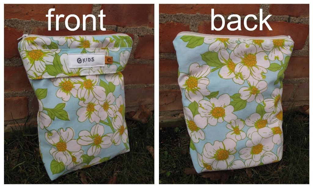 The Wet Bag In Pictures Was Made From A Vintage Table Cloth That I Found Thrifting Few Months Ago Isn T It Pretty Print