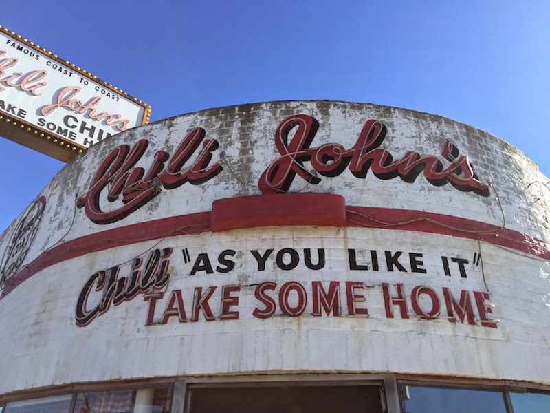 Chili John's in Burbank, CA