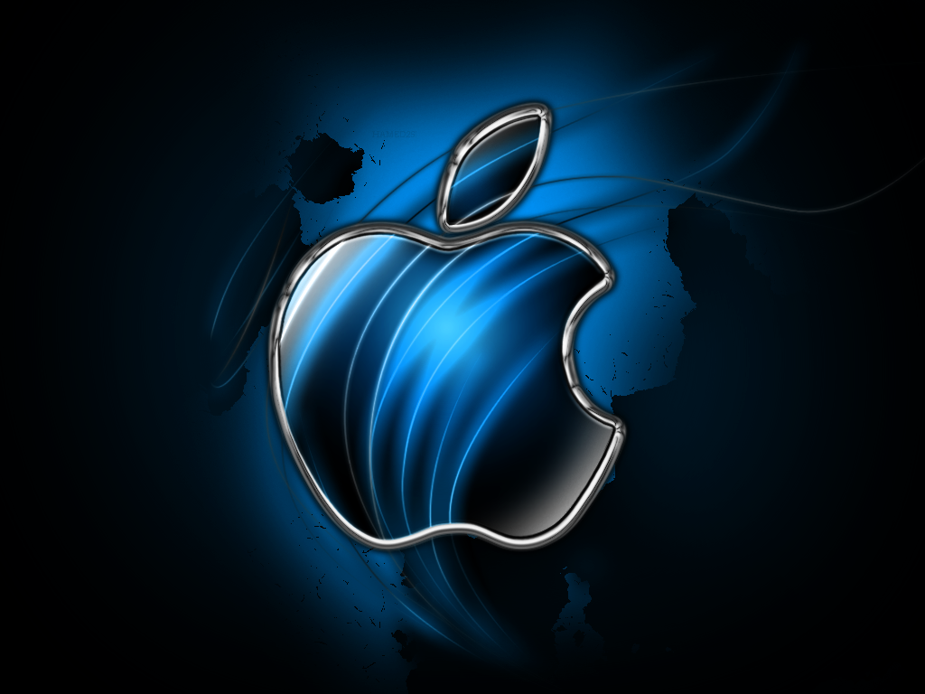 blue apple wallpaper maybe navy blue