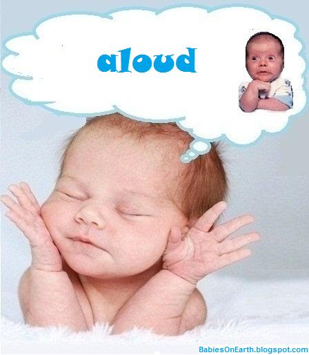 aloud