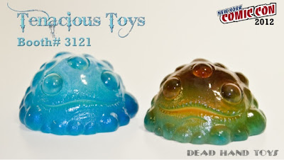 New York Comic-Con 2012 Exclusive Translucent Gread Resin Figures by Brian Ahlbeck  of Dead Hand Toys