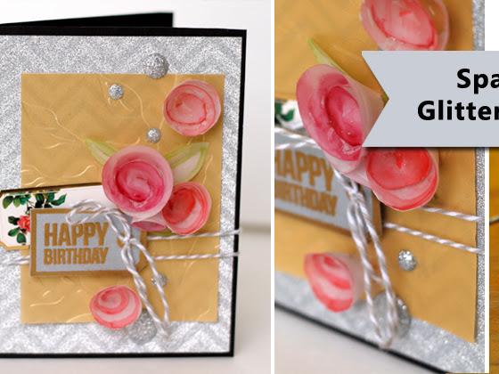 Sparkly Birthday Card