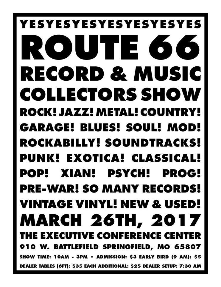 Route 66 Record & Music Collector's Show