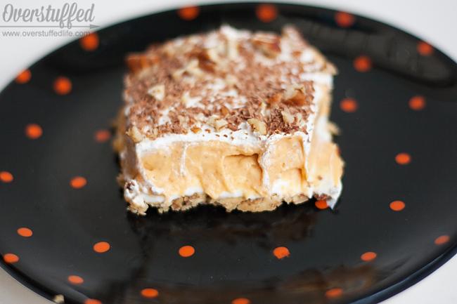 Gluten-free Pumpkin Pudding Dessert - Overstuffed