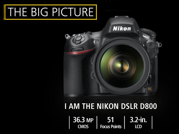 Nikon DSLR D800