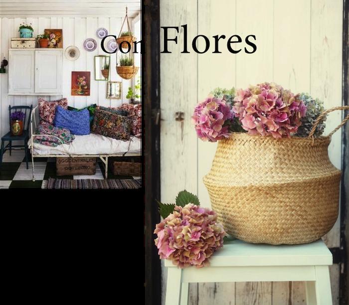 6 ideas para sacarle partido a una cesta decoraci n for Cestas para lena