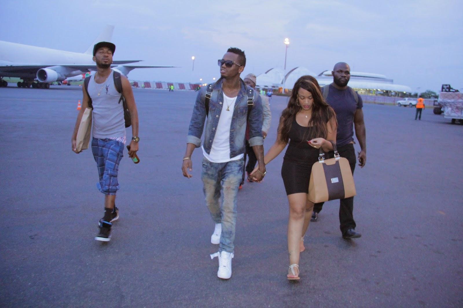 Exclusive Picha Na Video Ya Diamond Na Zari Walivyopokelewa Rwanda Kwetu Fashion Design