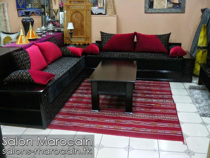 banquette marocaine moderne boutique salon marocain traditionnel - Salon Marocain Moderne Pas Cher
