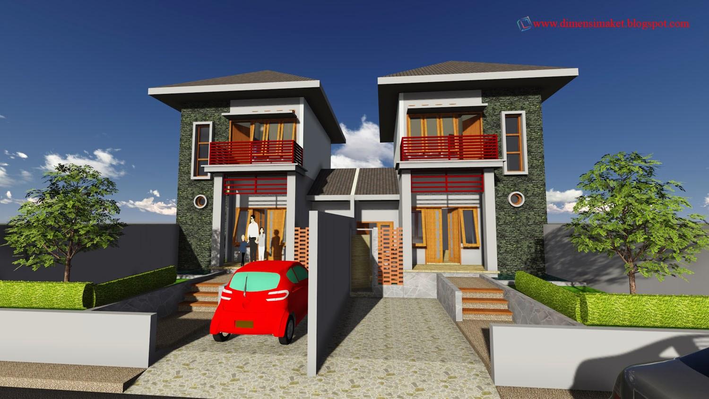 rendering 3d desain rumah 004