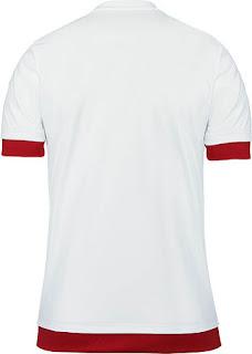 gambar detail jersey musim depan Jersey Ac Milan away bagian belakang musim 2015/2016 di enkosa sport toko jersey online terpercaya