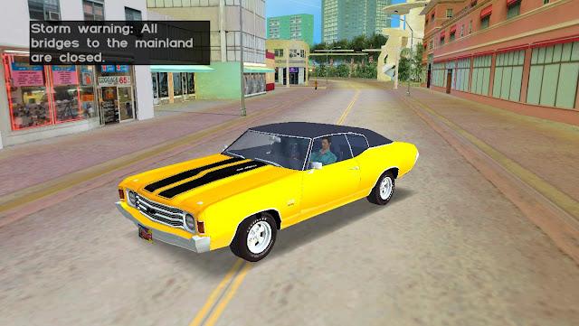 Chevrolet Chevelle SS 1972 GTA Vice City