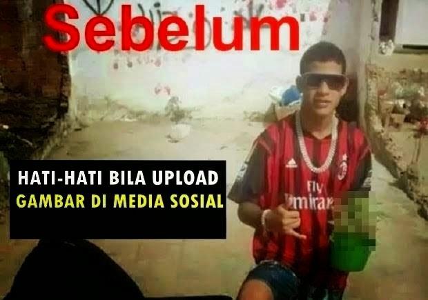 PERHATIAN Waspada Bila Upload Gambar Di Laman Sosial Jangan Sampai Kantoi Seperti Remaja Ini Kenapa