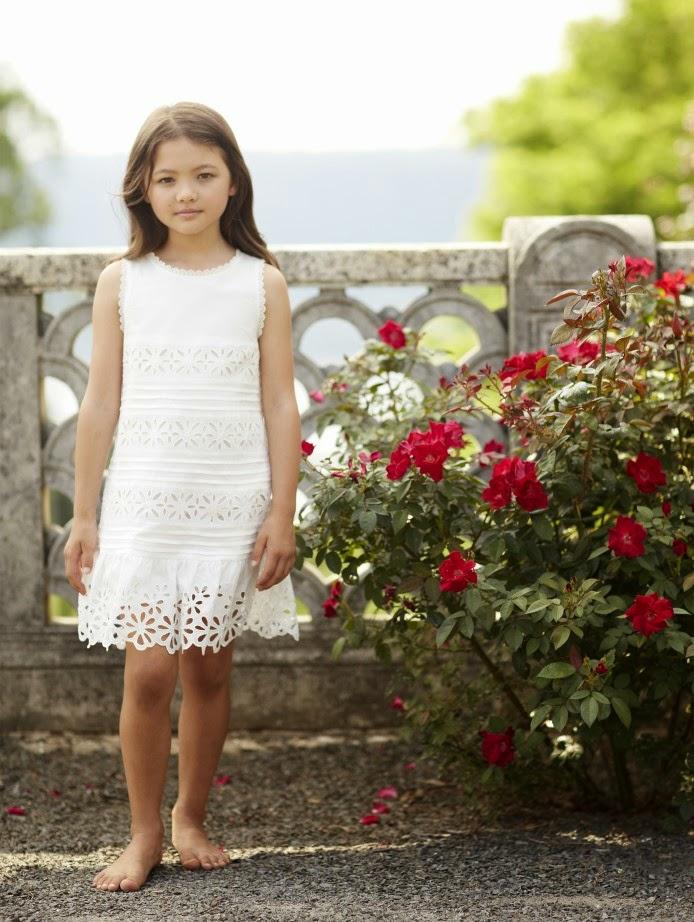 Oscar de la Renta Girls #summer15 #PequeñaFashionista