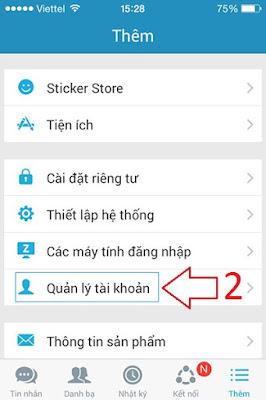 Hướng dẫn cách thoát Zalo trên iPhone, Samsung, Sony...