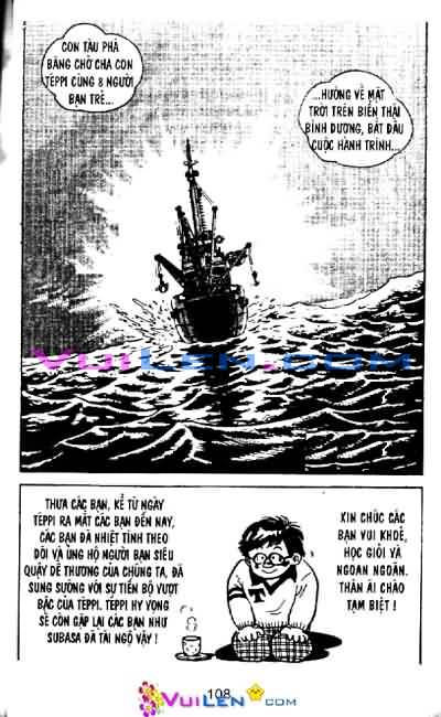 Siêu quậy Teppi chap 39 - Trang 105