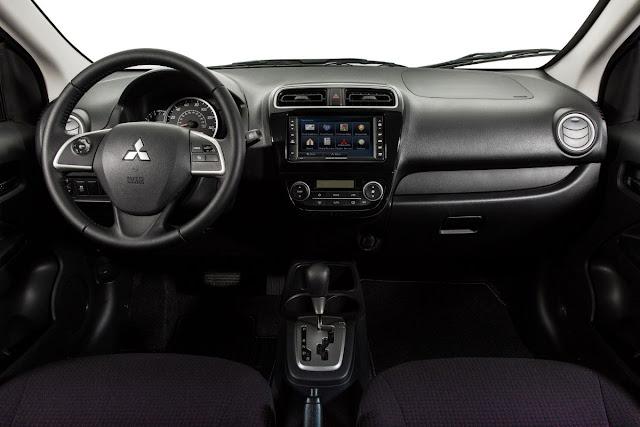 2014 Mitsubishi Mirage interior
