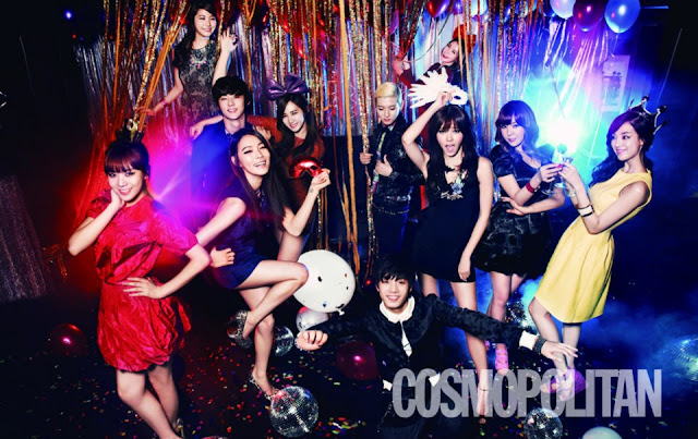 Pledis Family Majalah Cosmopolitan 01