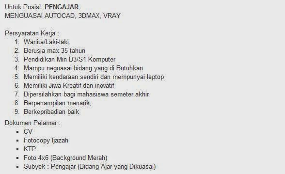 lowongan kerja surabaya agustus 2014 pt flashcom indonesia