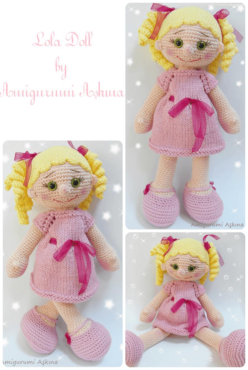 Yeni Bir Lola Bebek- Amigurumi Lola doll Tiny Mini Design