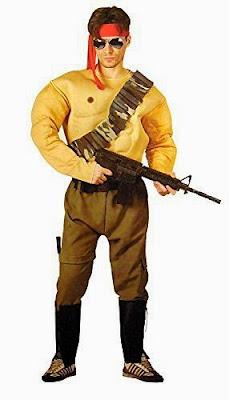 Cheap Rambo Costume
