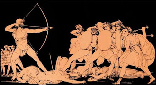 Ulysses against the suitors