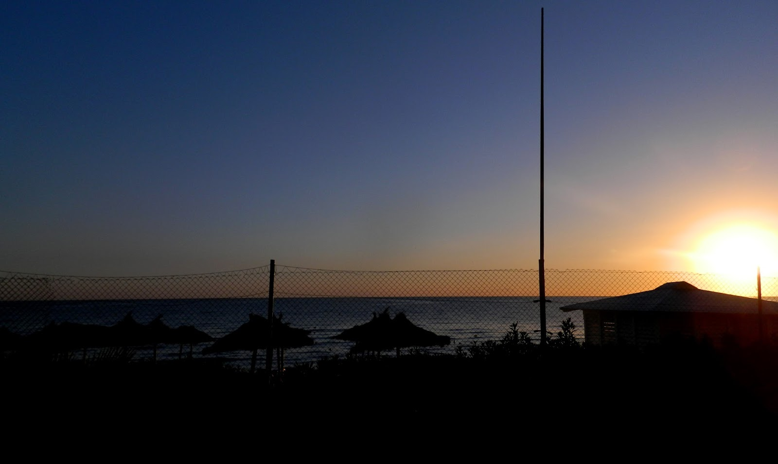 sunrise, Tunisia, Monastir