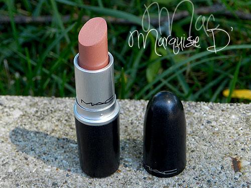 mac marquise d lipstick