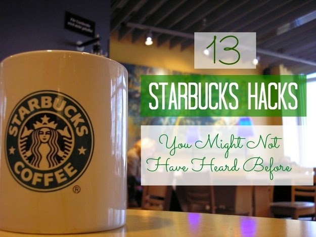 13 Starbucks Hacks You Might Not Know