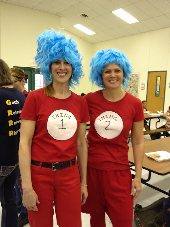 Crazy Dr. Seuss Day!!