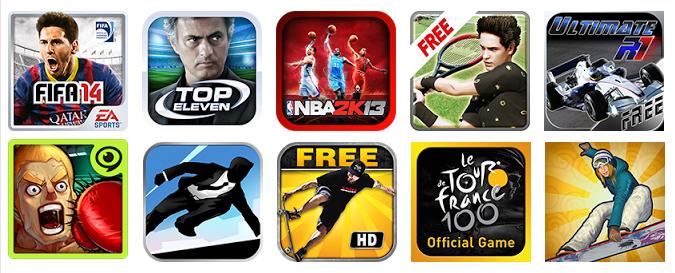 Los diez mejores juegos de deportes para Android
