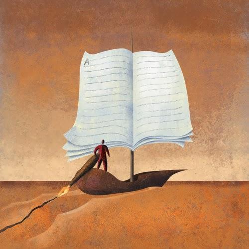 Navegando con la escritura