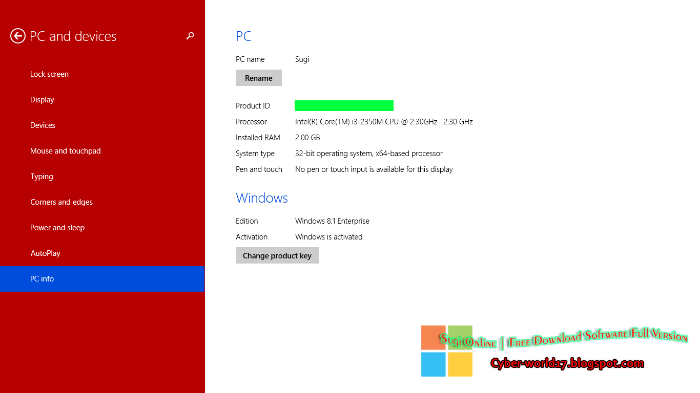 Download Windows 8.1 AIO 20in1 (32/64 bit) Pre-Activated 2014 - Windows 8.1 - Full Verson Crack ...