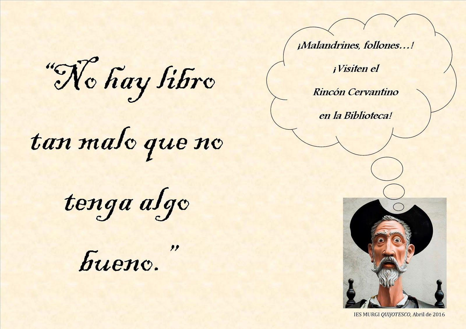 Frases de El Quijote