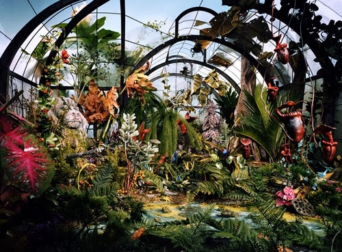 03-Botanic-Garden-Photographer-Lori-Nix-Model-Making-Painting-Photography-www-designstack-co