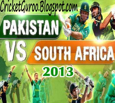 Pakistan tour of South Africa 2013