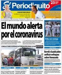 23/01/2020  PRIMERA PAGINA DE EL PERIODIQUITO DE MARACAY
