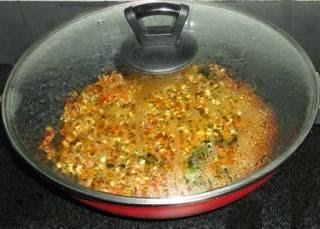 cooking matki chi usal