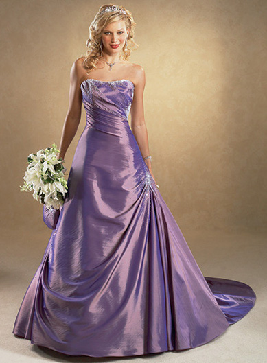 Wedding dress design unique colorful wedding dresses for Unique colorful wedding dresses