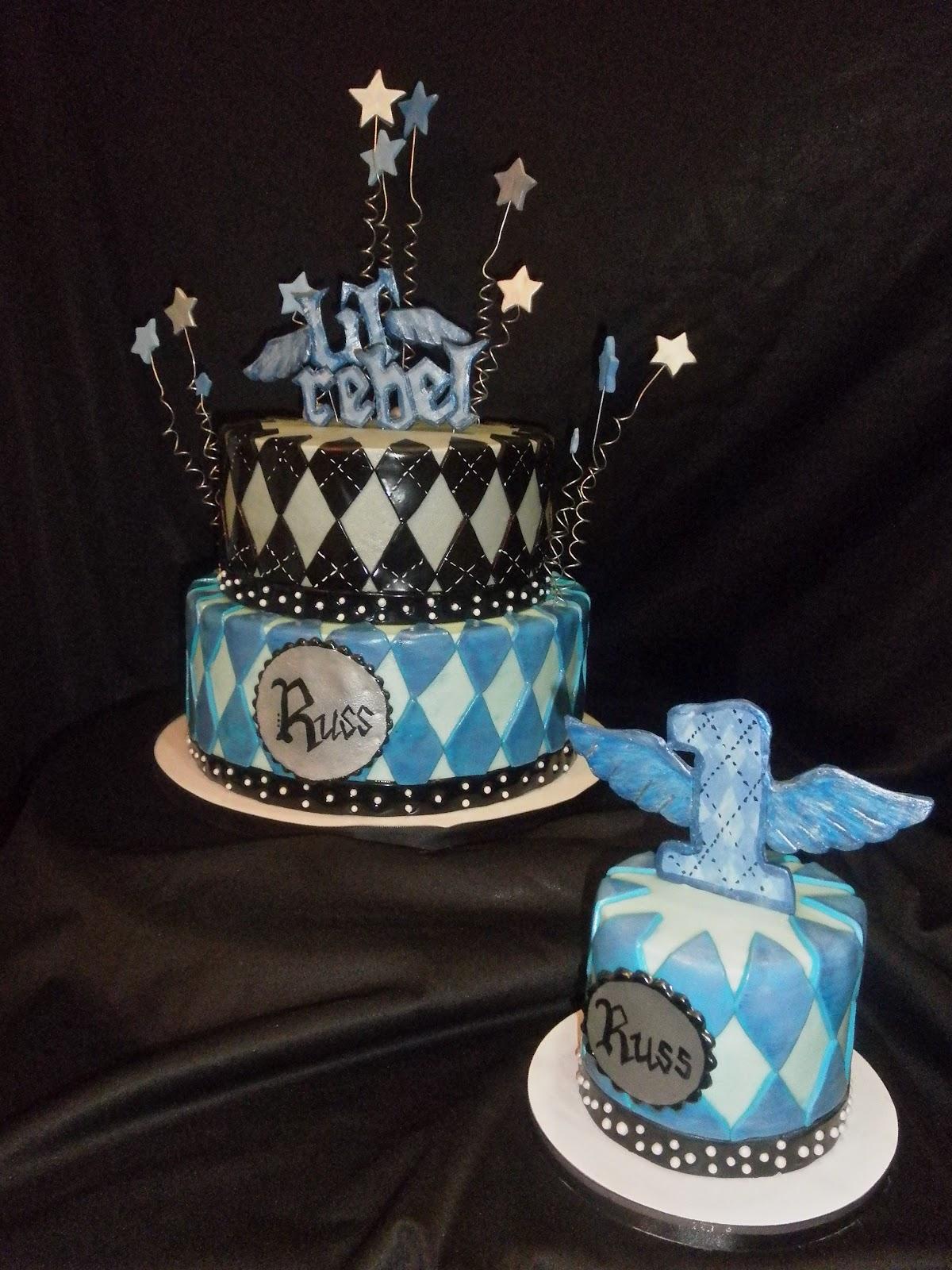 1 Year Birthday Cake Design