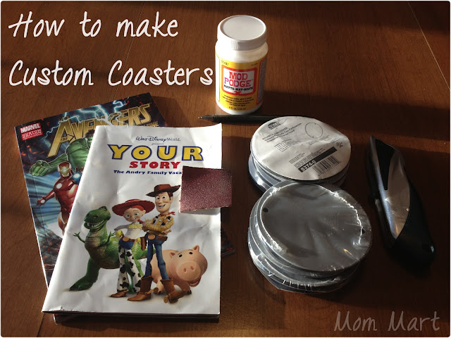 How to make Custom Coasters
