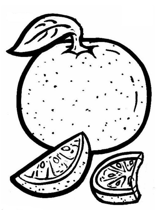 Frutas Para Pintar Colorir Desenhos De