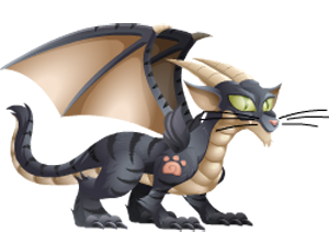 imagen del dragon gato