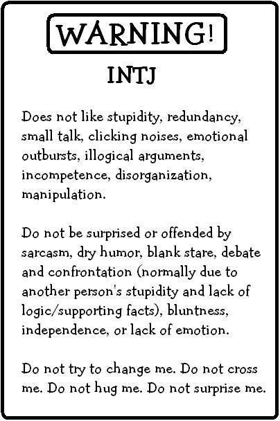 How to deal with an intj