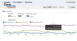 Cara memasang facebook insights di blog