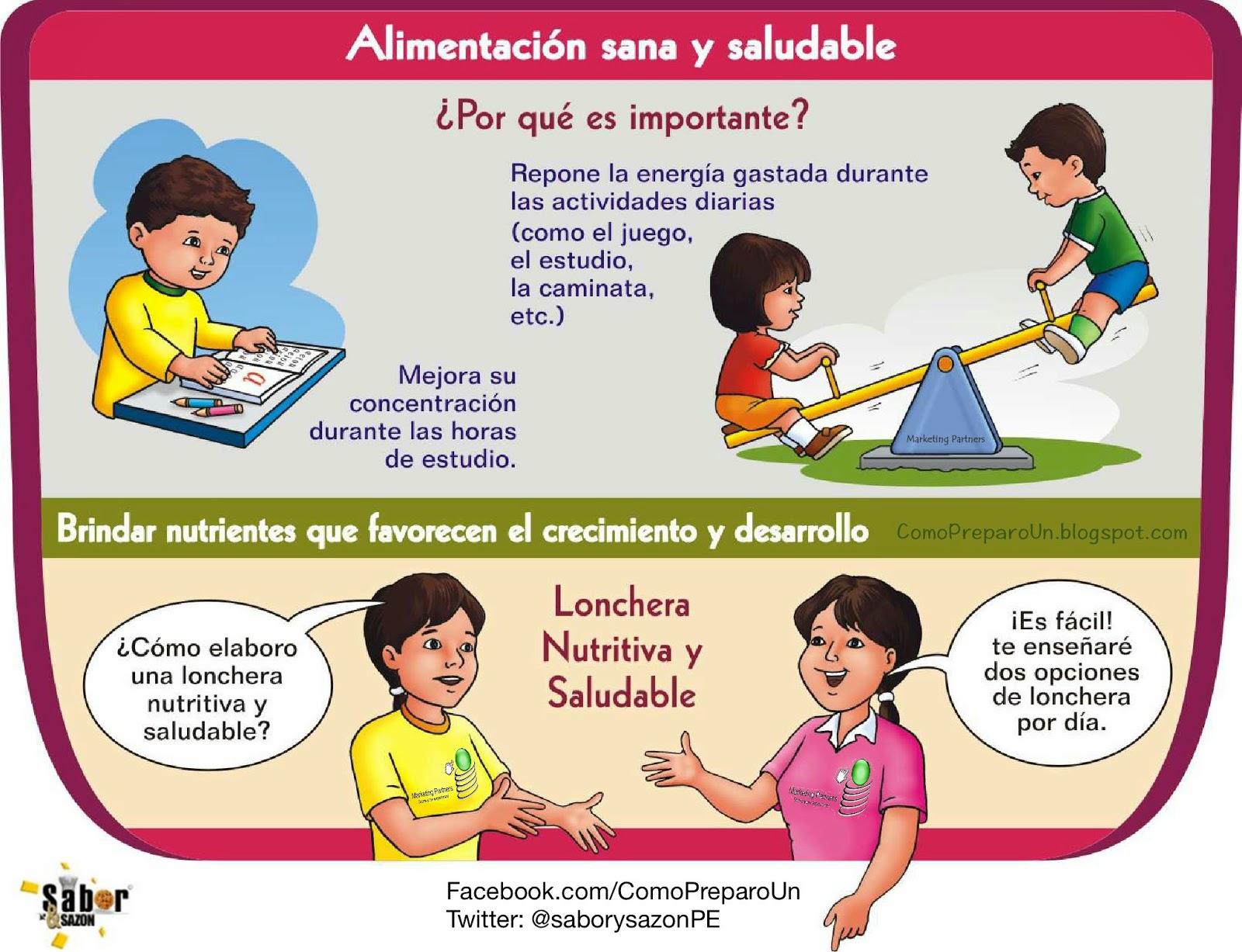 LONCHERAS NUTRITIVAS Y SALUDABLES PARA NIÑOS - Miércoles