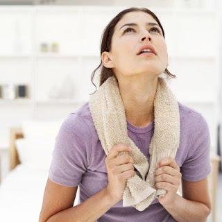 sweaty - كيف يمكن علاج التعرق المفرط